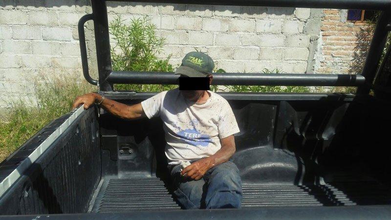¡Asesinó a su hijo a tubazos en Aguascalientes!