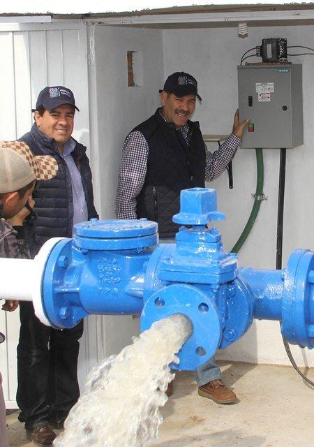 ¡Cumple el Gobierno Estatal su compromiso de acercar el agua potable a comunidades rurales!