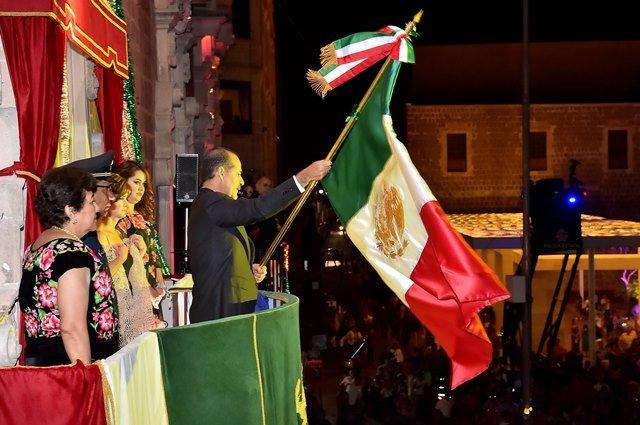 ¡La ceremonia del Grito de Independencia es el llamado para construir en unidad el México que queremos: MOS!