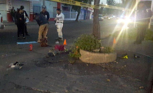 ¡Mueren dos mujeres al caer de una motocicleta en Aguascalientes!