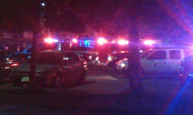 ¡Policías municipales rescataron a una familia tras incendiarse su casa en Aguascalientes!