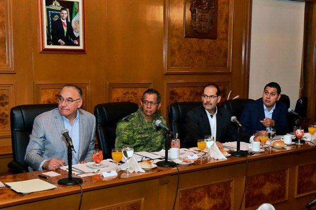 ¡Grupo de Coordinación Aguascalientes acuerda fortalecimiento de la estrategia de seguridad pública!
