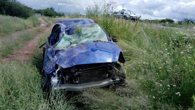 ¡Maestra de Loreto falleció tras una volcadura en Trancoso, Zacatecas!