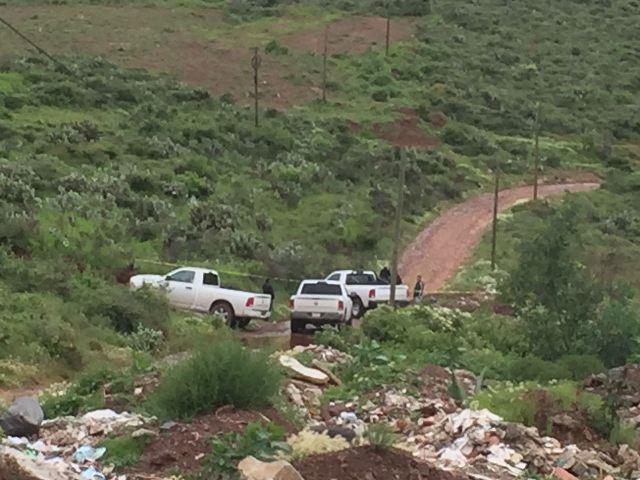 ¡Ejecutaron a balazos y embolsaron a una mujer en el camino al Cerro de la Virgen, en Zacatecas!