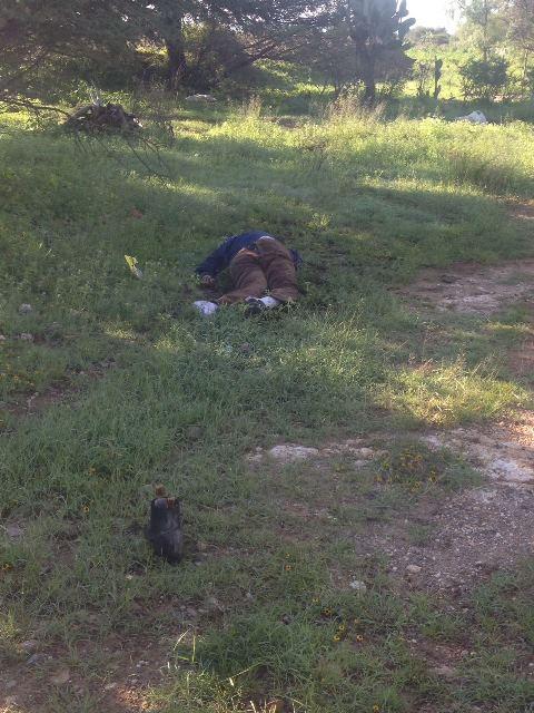 ¡Encuentran muerto a septuagenario en la entrada a la comunidad de Molinos, en Aguascalientes!