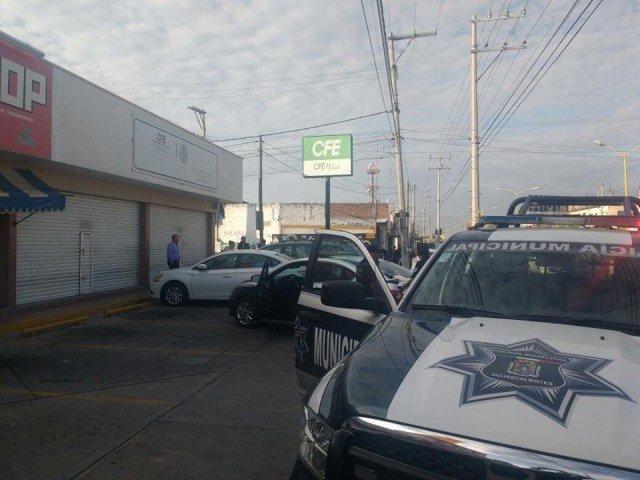 ¡Saquearon cajeros de la CFE en Aguascalientes!