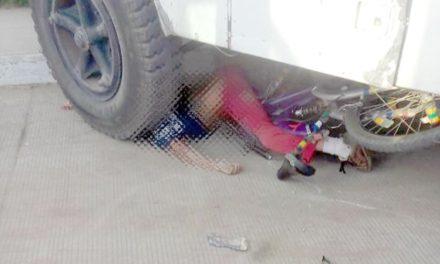 ¡Autobús urbano arrolló y mató a un niño en su bicicleta en Fresnillo!