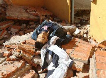 ¡Hallaron muerto a un adicto en una finca en obra negra en Aguascalientes!