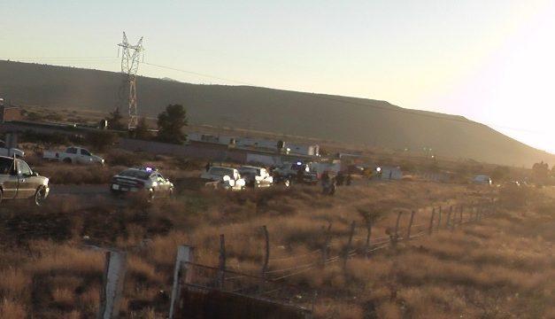 ¡Bache provocó la volcadura de una camioneta en Fresnillo: 1 muerto y 2 lesionados!