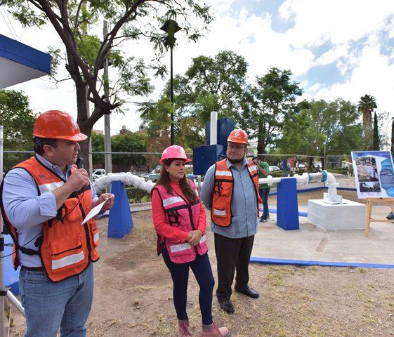 ¡Tere Jiménez pone en marcha infraestructura hidráulica!