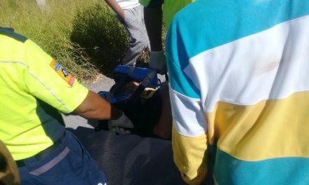 ¡Niño de 5 años de edad lesionado tras ser atropellado por una combi en Aguascalientes!