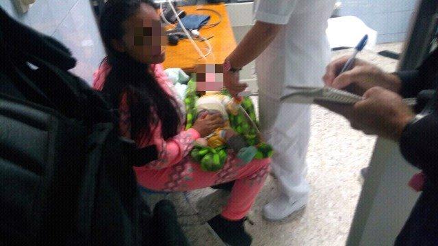 ¡Policías municipales le salvaron la vida a un bebé de 1 mes de nacido en Aguascalientes!
