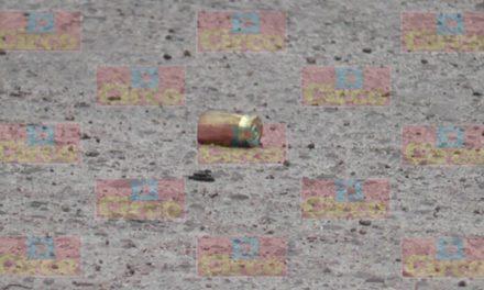 ¡Grave hombre baleado por intento de ejecución en Guadalupe, Zacatecas!