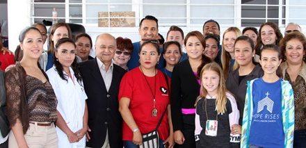 ¡Impulsa la alcaldesa Tere Jiménez alimentación sana para sectores vulnerables!