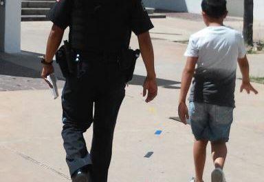 ¡Detuvieron a niño de 9 años de edad que se metió a una escuela en Aguascalientes a golpear a otro menor!