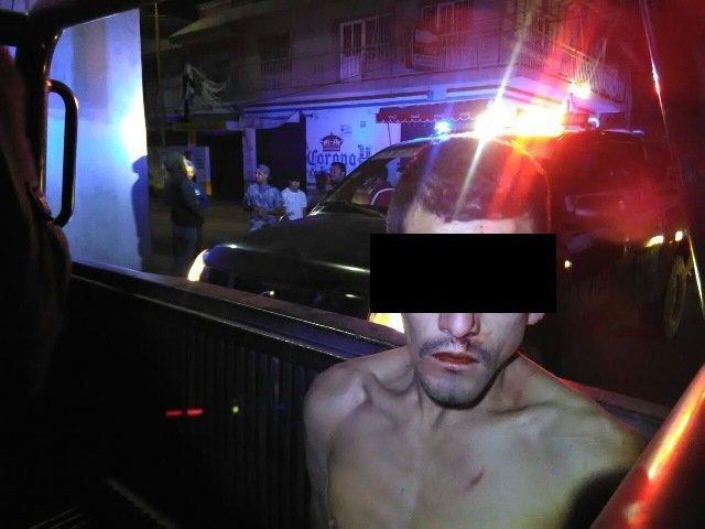¡Robacoches fue detenido tras ser perseguido por su víctima y policías estatales en Aguascalientes!