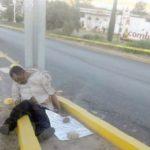 ¡Hallaron a un ejecutado con un narco-mensaje en Sombrerete, Zacatecas!