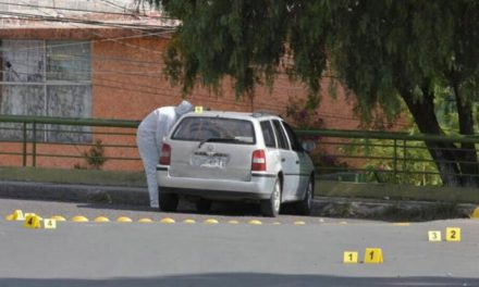 ¡Tras persecución fue ejecutado a balazos un automovilista en Zacatecas!