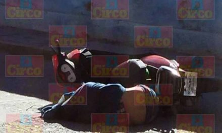 ¡Motociclista fue ejecutado a balazos en la colonia Barrio Alto de Fresnillo!