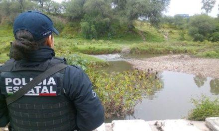 ¡Encontraron muerto a un hombre en el Río San Pedro en Aguascalientes!
