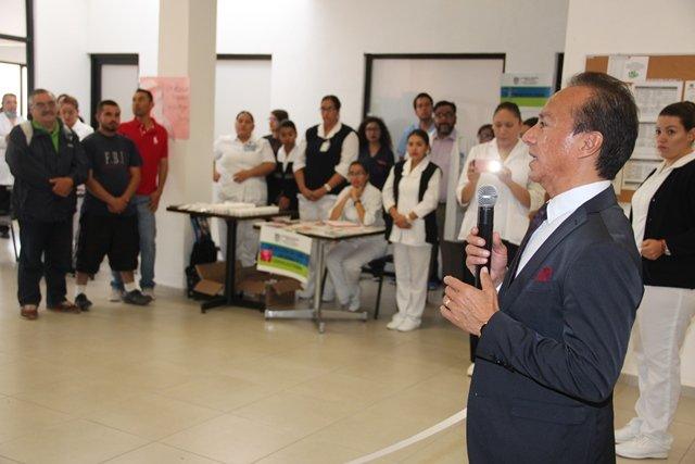 ¡El ISSEA promoverá eventos deportivos y culturales para reactivar el hospital de psiquiatría!