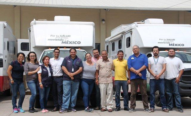 ¡Aguascalientes brinda apoyo médico a los afectados por el sismo del 19 de septiembre!