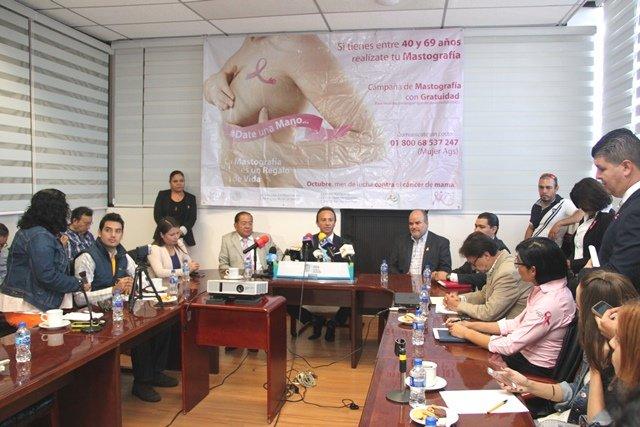 ¡El Sector Salud realizará 20 mil mastografías gratuitas a mujeres mayores de 40 años!