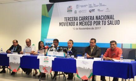 ¡ISSEA anuncia la Tercera Carrera Atlética Moviendo a México por tu Salud!