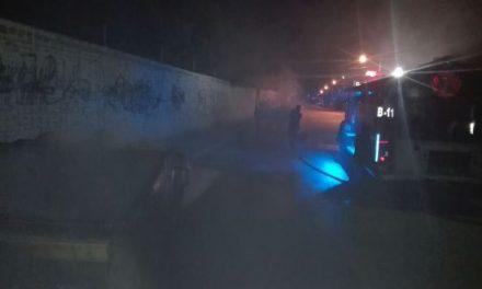 ¡Investiga municipio de Jesús María incendio en mobiliario urbano!