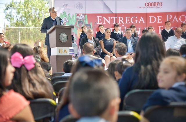 ¡La educación es la base para la transformación de nuestro país: Noel Mata!