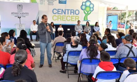 ¡Centros Crecer buscan inhibir problemáticas sociales que afectan a la población!