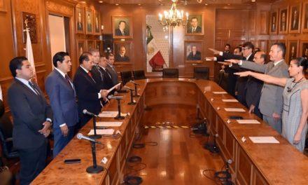 ¡El gobernador del estado encabezó la instalación del Consejo Auxiliar del Notariado!