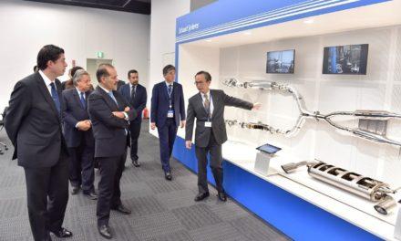 ¡Afianza gobernador intención de empresarios japoneses de ampliar inversiones en Aguascalientes!