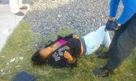 ¡Mujer murió tras ser impactada por el tren en Aguascalientes!