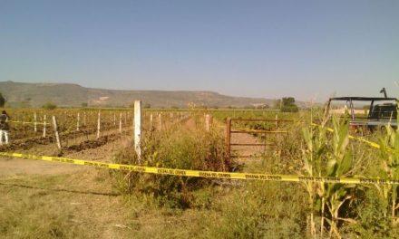¡Hombre murió ahogado en un sifón para riego en un predio en Aguascalientes!