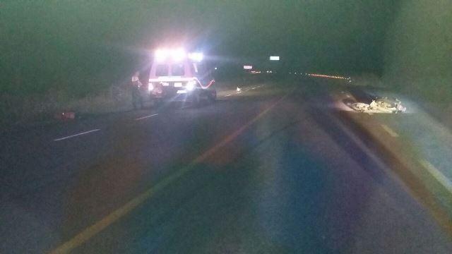 ¡Motociclista murió embestido por una camioneta en Aguascalientes!