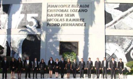 ¡Alcaldesa rinde tributo a fundadores de Aguascalientes!