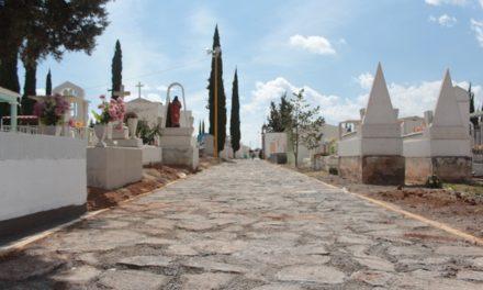 ¡Rehabilita Ayuntamiento de Pabellón de Arteaga el Panteón Municipal!