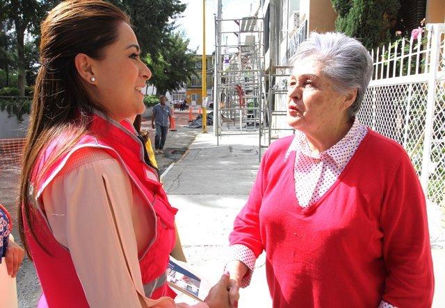 "¡Tere Jiménez supervisa avance de obras en ""Barrio Mágico"" de Guadalupe!"