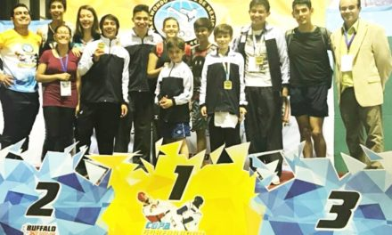 ¡Excelentes resultados para el selectivo estatal de Taekwondo en el Campeonato Nacional de Team 5!