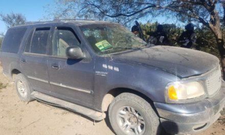¡Policías estatales rescataron en Pinos a un hombre secuestrado en Zacatecas!