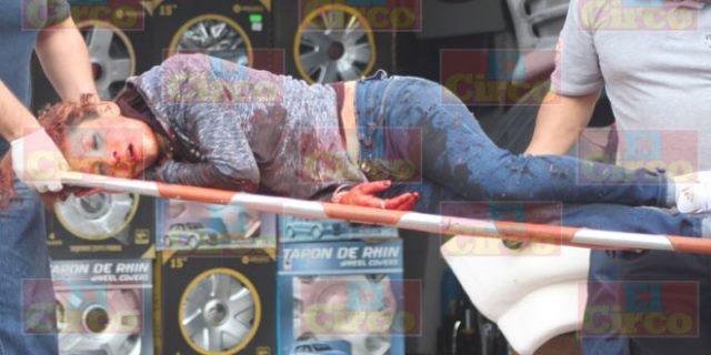 """¡Intentaron ejecutar a """"La Barbie"""" en Lagos de Moreno y está grave!"""
