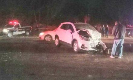 ¡Choque de camionetas dejó 1 muerto y 5 lesionados en Aguascalientes!