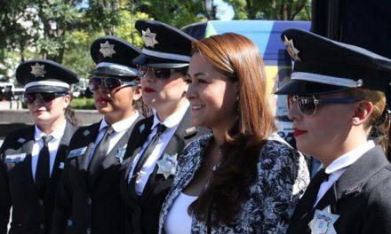 ¡Tere Jiménez rinde cuentas en materia de seguridad pública!