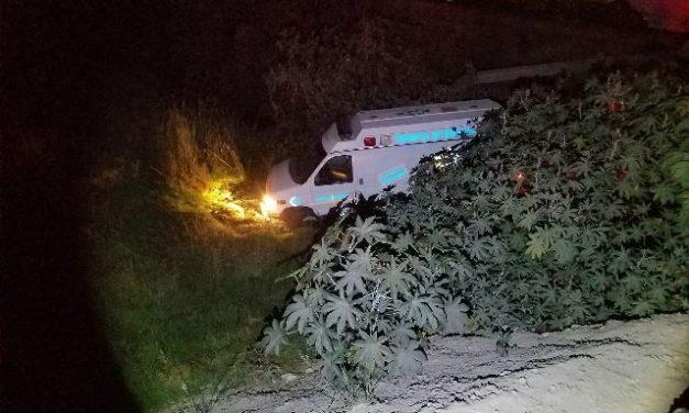 ¡Ambulancia fue embestida por el tren en Lagos de Moreno!