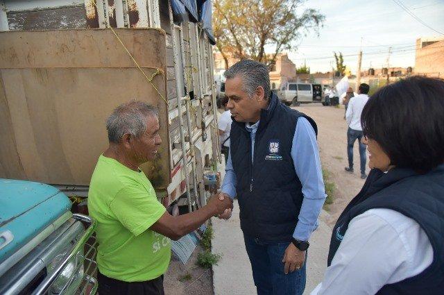 ¡Arranca obra de electrificación en Colonia Plan Benito Juárez, Jesús María!