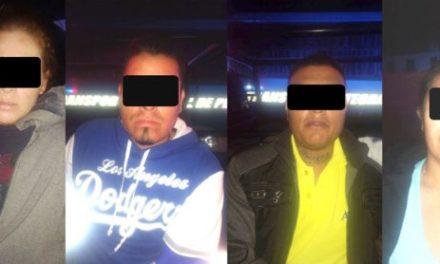 ¡Capturan a banda de asaltantes con armas, droga y una camioneta robada en Aguascalientes!