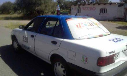 """¡Capturan a narcotaxista de Zacatecas y le aseguran a pasajera """"Crystal"""" en Aguascalientes!"""