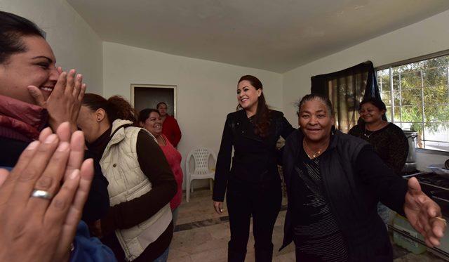 ¡Fortalecerá Tere Jiménez comedores comunitarios en beneficio de la población más vulnerable!