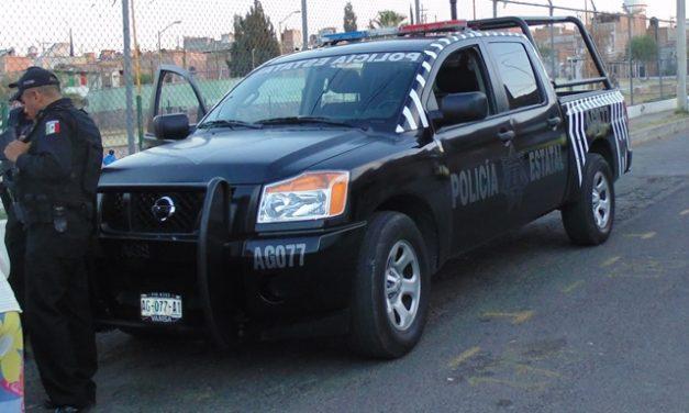 ¡Policías estatales y municipales de San Francisco de los Romo detuvieron a un prófugo asesino!